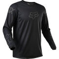 FOX 180 Revn Jersey - Black - 2XL, Black/Black MX21