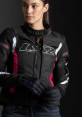 LS2 GATE LADY JACKET BLACK PINK L