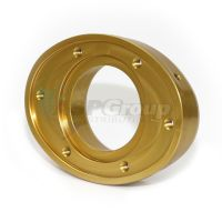 "M2 Outlet 2,25"" Threaded Gold"