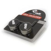 ODI GRIPS Set Lock Jaw Clamps w/Snap Caps - Gray