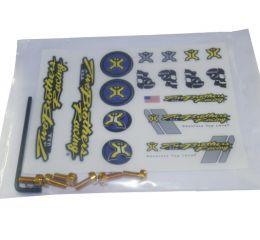 TBR Endcap Bolt Kit GOLD