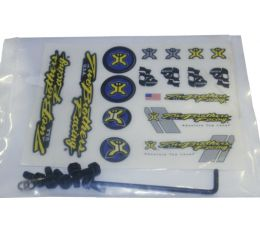 TBR Endcap Bolt Kit BLACK