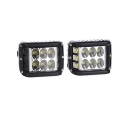 SHARK LED Single Side Shooter, homologace E9, CREE LED, 45W set 2 kusy