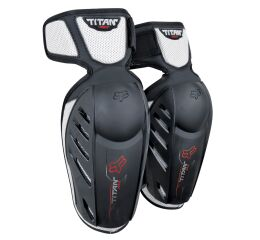 FOX Yth Titan Race Elbow Guards - OS, Black MX21