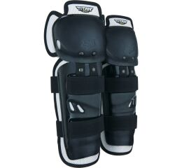 FOX Titan Sport Knee/Shin Guards, Ce - OS, Black MX21