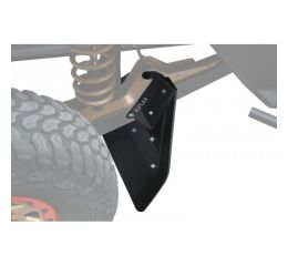 REAR LOWER MUD FLAPS REINFORCED - CAN AM MAVERICK X3 XRS