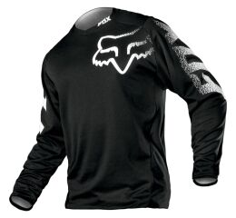 FOX Blackout Jersey - Black MX21