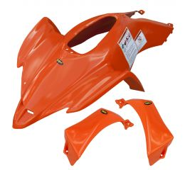 YAM YFZ450 RACE FRONT FENDER - ORANGE