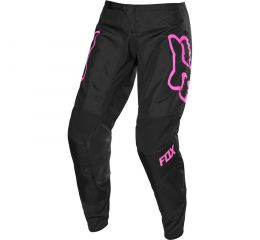 FOX Wmns 180 Prix Pant-Black/Pink MX20