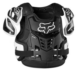 FOX Raptor Vest, Ce-Black/White MX20