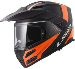LS2 FF324 METRO RAPID MATT BLACK ORANGE P/J
