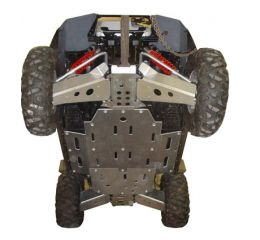 Ricochet ATV Polaris RZR 2008-14, Skidplate set