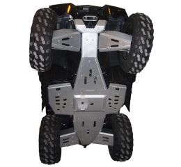 Ricochet ATV Polaris Sportsman 550/850 XP Touring 2013-15, Complete Skid Plate