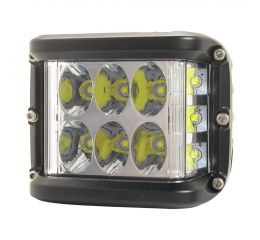 SHARK LED Dual Side Shooter, CREE LED, homologation E9, 36W