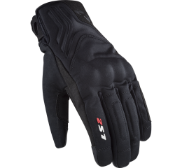 LS2 JET 2 MAN GLOVES BLACK