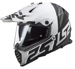 LS2 MX436 PIONEER EVO EVOLVE WHITE MATT BLACK