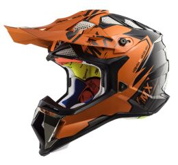 LS2 MX470 SUBVERTER EMPEROR BLACK ORANGE
