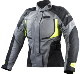 LS2 PHASE LADY JACKET GREY BLACK YELLOW