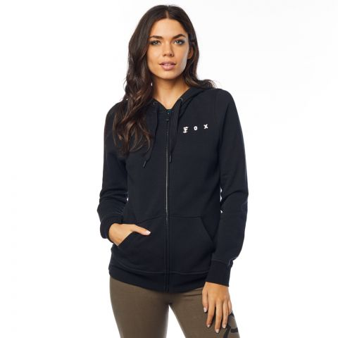FOX The Super Fox Zip Fleece, Black, LFS18F