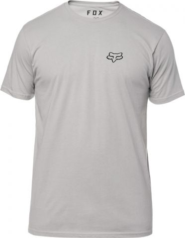 FOX Service Ss Premium Tee  -XL, Steel Grey, LFS18F