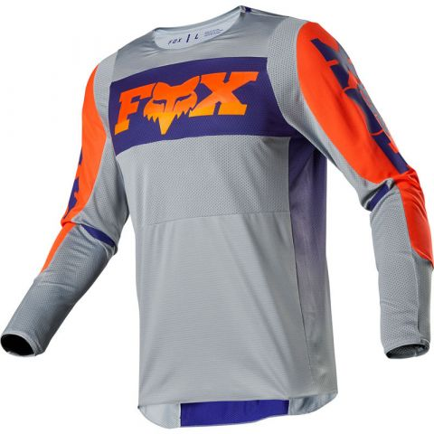 FOX 360 Linc Jersey-Grey/Orange-XXL MX20