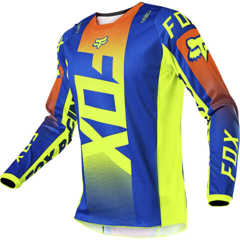 FOX 180 Oktiv Jersey - M, Blue MX21