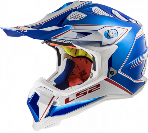 LS2 MX470 SUBVERTER Power Chrome Blue M