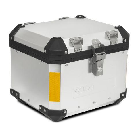SIKKIA MOTO hliníkový TOP CASE 33L, stříbrný, včetně zámků